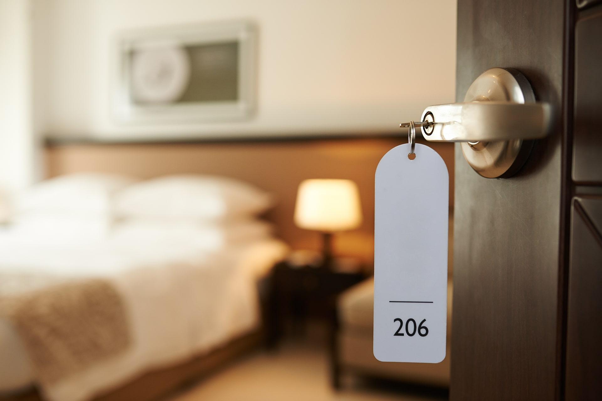 Sistemi di chiusura per ambiente alberghiero e turistico